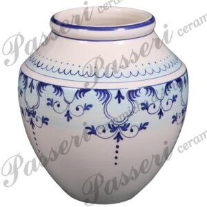 Vaso interamente creato e decorato a mano