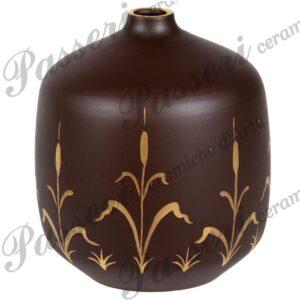 Vaso fatto e decorato a mano